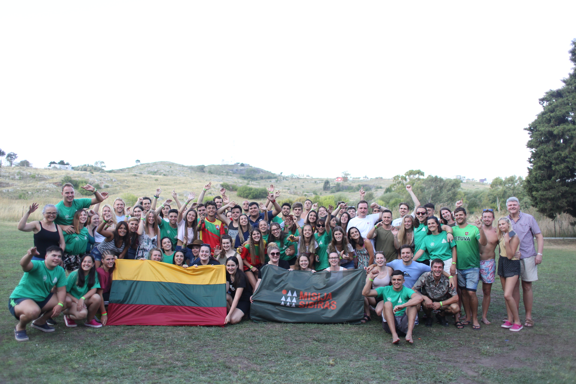 Berisso fue una de las sedes del Encuentro Sudamericano de la Juventud Lituana