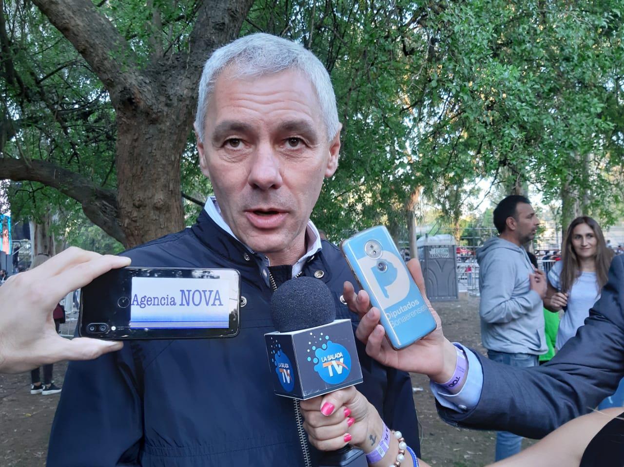 """Fabián Cagliardi: """"Notamos que el vecino de Berisso apuesta a este Frente de Todos"""""""