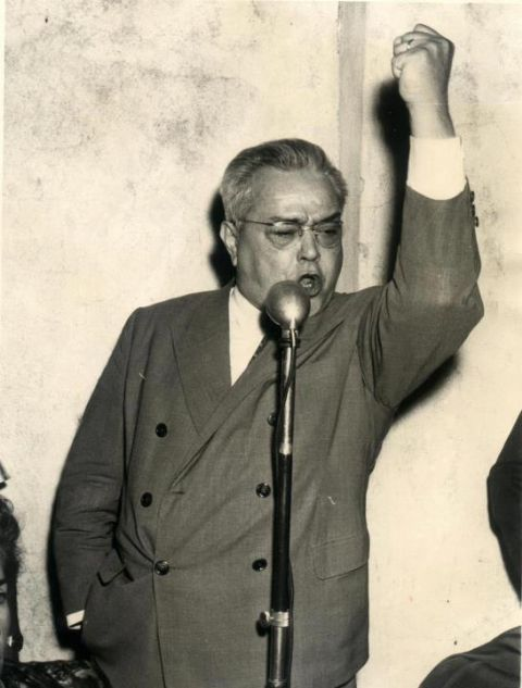 Homenaje a Ricardo Balbín a 34 años de su muerte