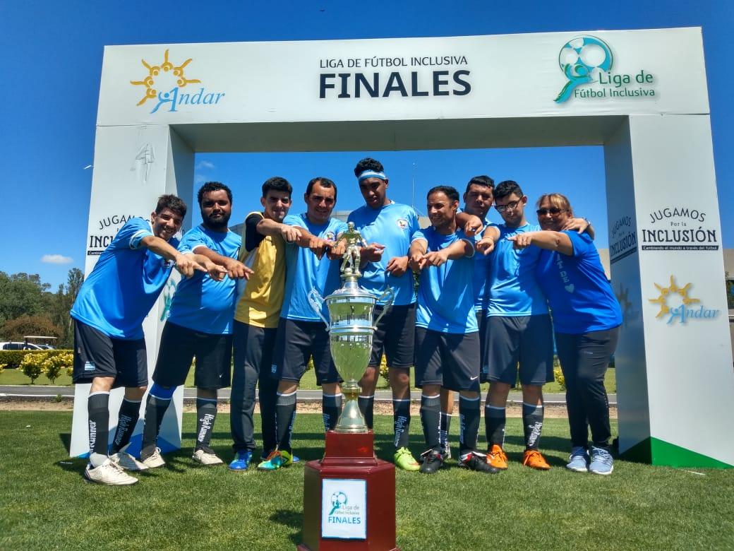 Amigos de Corazón jugó la final de la Liga Inclusiva de General Rodríguez