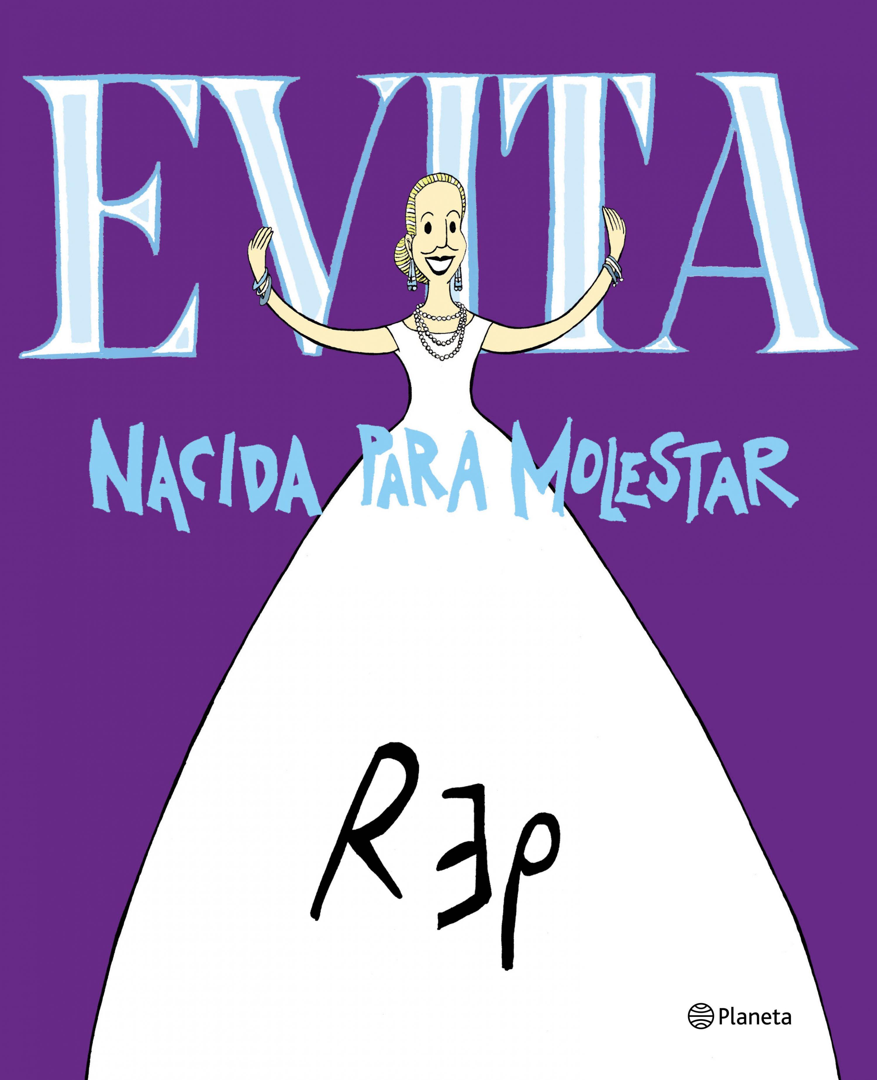 Este viernes 23 de agosto, a las 18.30 horas, el reconocido dibujante Rep visitará nuevamente nuestra ciudad en el marco de las actividades del Ciclo Evita 100 años de amor.