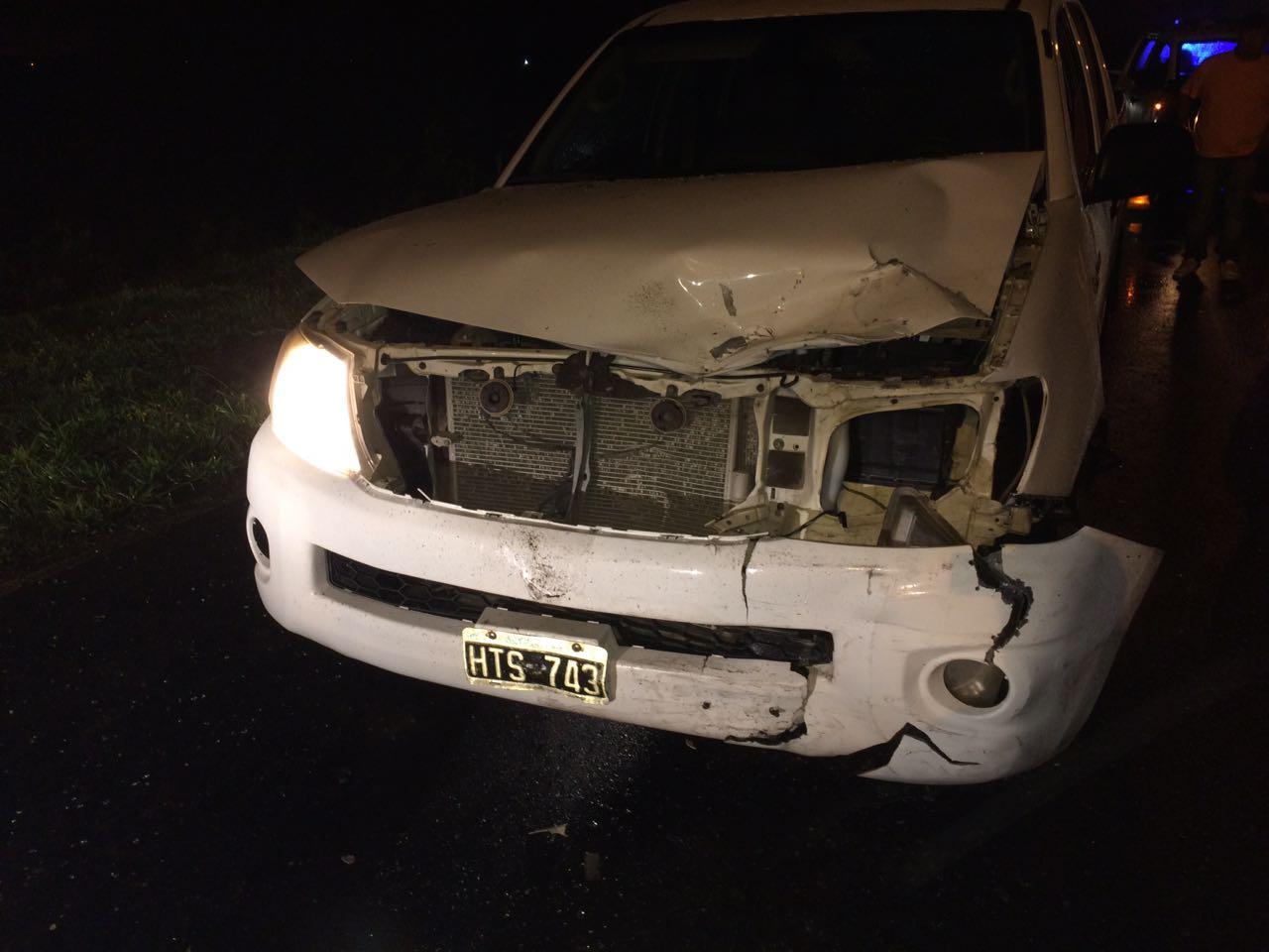 Este lunes, pasadas las 20, se produjo un impactante siniestro vial en la 66 a la altura de la 30,  600 metros hacia la ciudad de La Plata, que dejó como saldo un hombre muerto y tres heridos.
