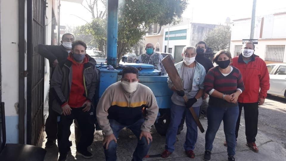 """El trabajo solidario del CEVECIM: """"Sabemos lo que es pasar hambre, frío y no tener para comer"""""""