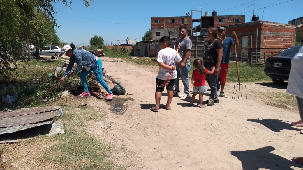 Villa Paula: Mancomunados en pos de mejorar el barrio