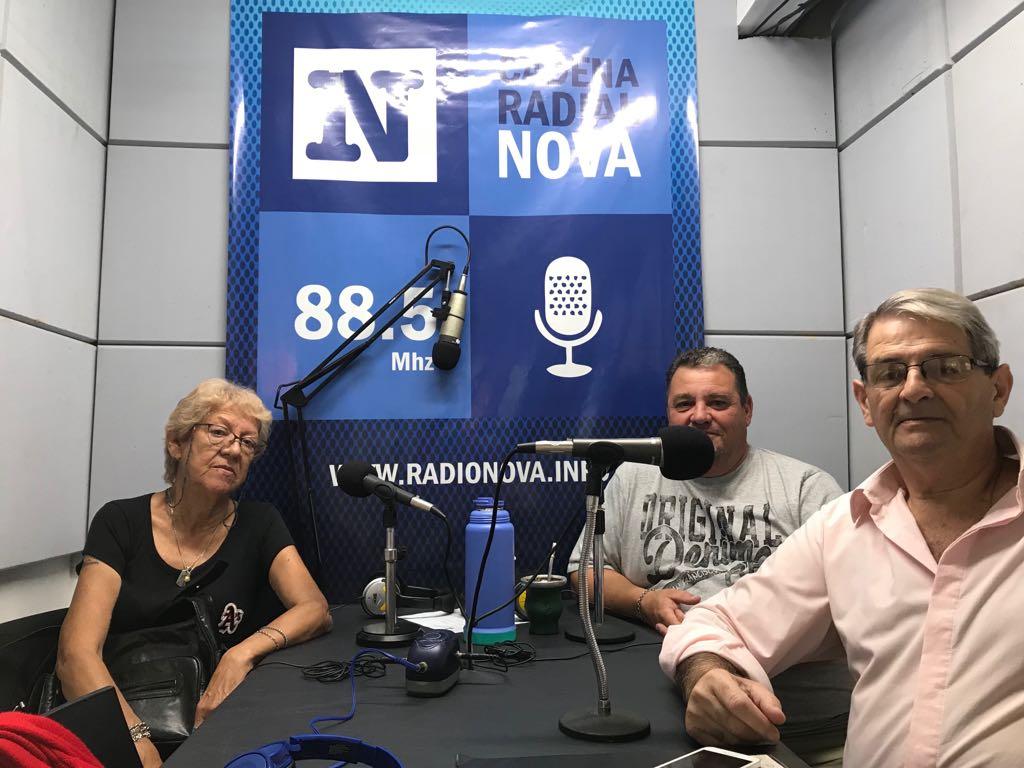 Este jueves visitaron los estudios de Cadena Radial NOVA las nuevas autoridades del Foro de Seguridad Ciudadana de la Zona 1, conformado en el Club Almafuerte de nuestra ciudad.