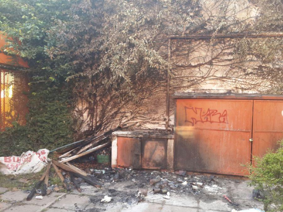 Tendr an identificados a los v ndalos que incendiaron el for Jardin 901