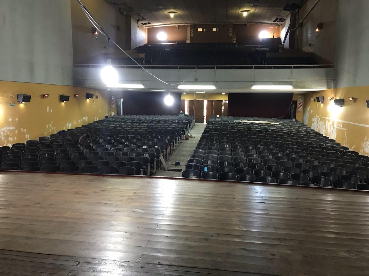 Continúan los avances en el Cine Teatro Municipal Victoria, que próximamente abrirá sus puertas como emblema de nuestra identidad y con sentido de pertenencia.
