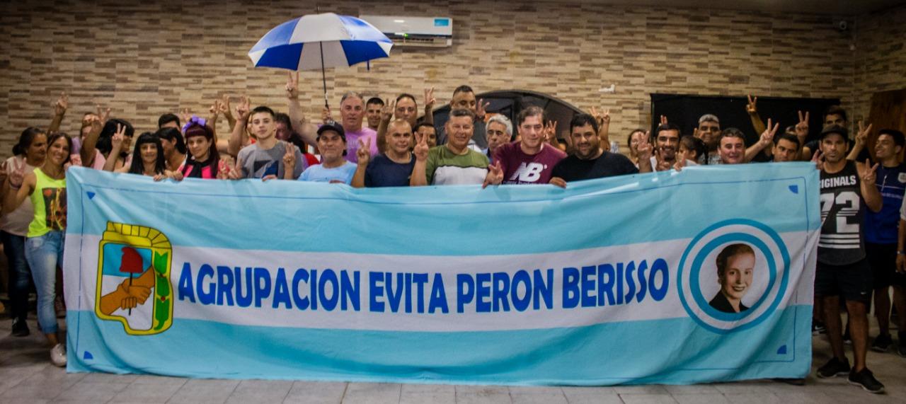 Se inauguró la Agrupación Evita Perón