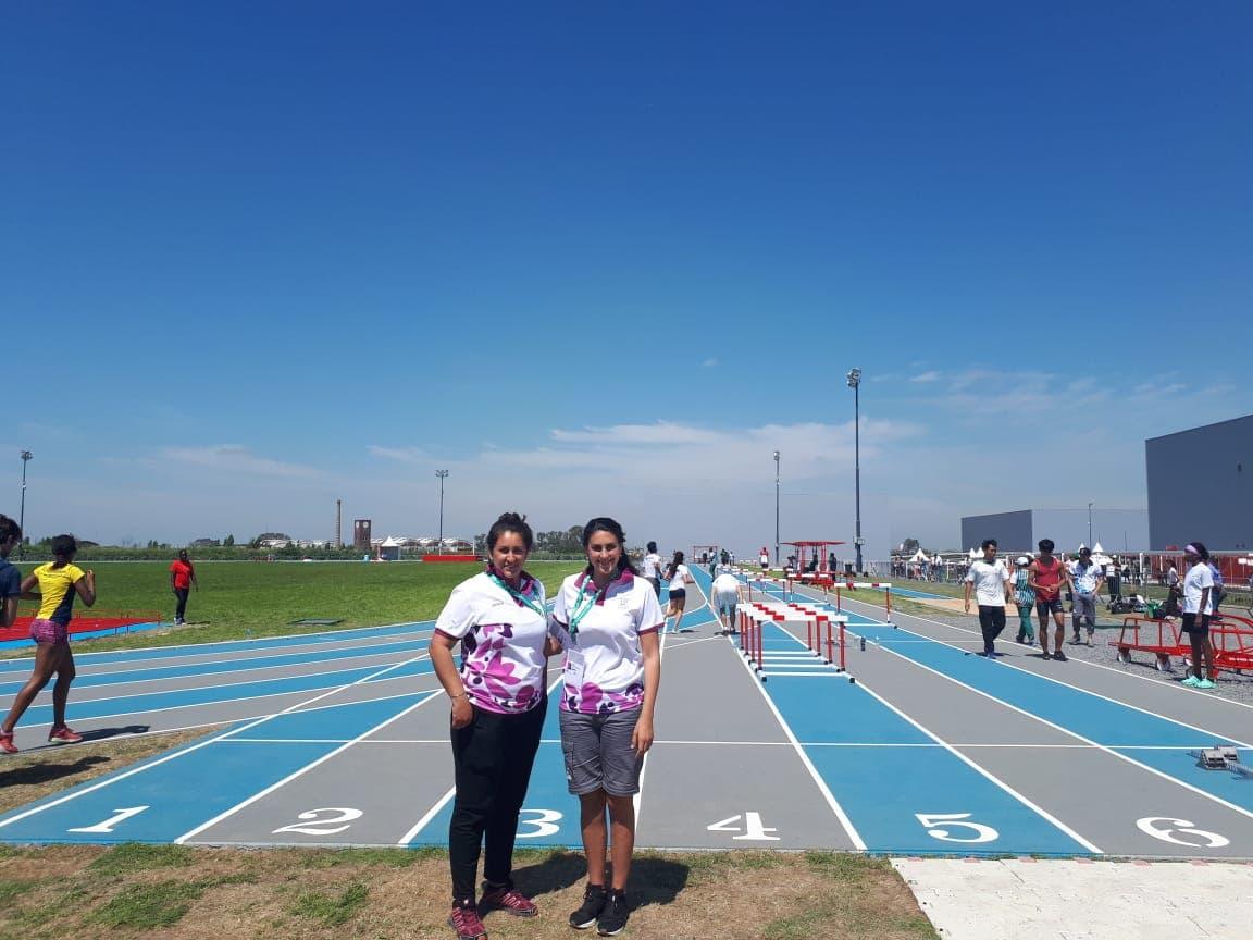 La Dirección de Deportes informó que las profesoras de la Escuela Deportiva Municipal de Atletismo, Cecilia Van Horn y Wendy Krukowski serán jurado de los Juegos Olímpicos de la Juventud.