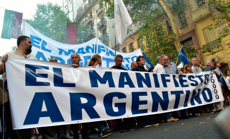 El próximo viernes 18 de agosto, a las 19:30, el centro Cultural y Político Juanjo Bajcic (Avenida Montevideo entre 7 y 8) será sede del lanzamiento de la seccional Región Capital (Berisso, La Plata y Ensenada) del colectivo el Manifiesto Argentino