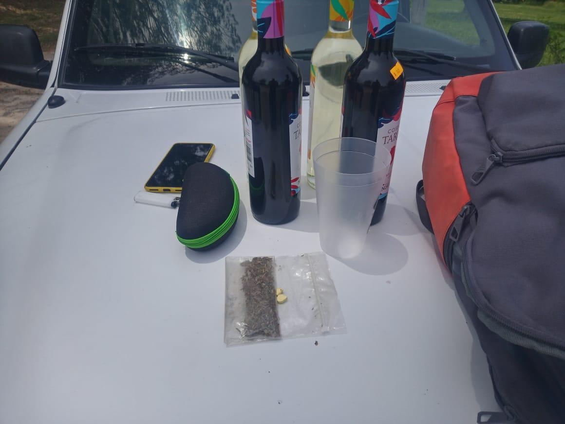 """Fiesta electrónica clandestina: cuatro detenidos con varias dosis de """"keta"""""""
