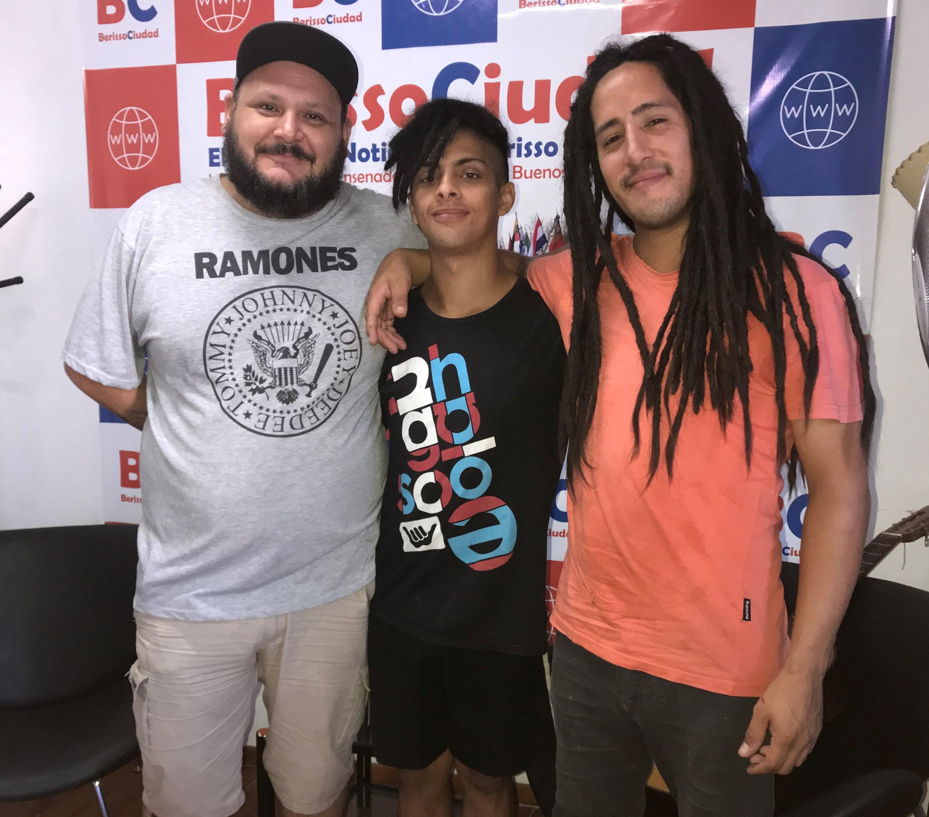 """A puro reggae: """"Genes Abori es una familia"""""""