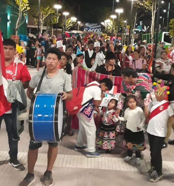 Organización Solidaria de Deportes: Su paso por la noche de Carnaval