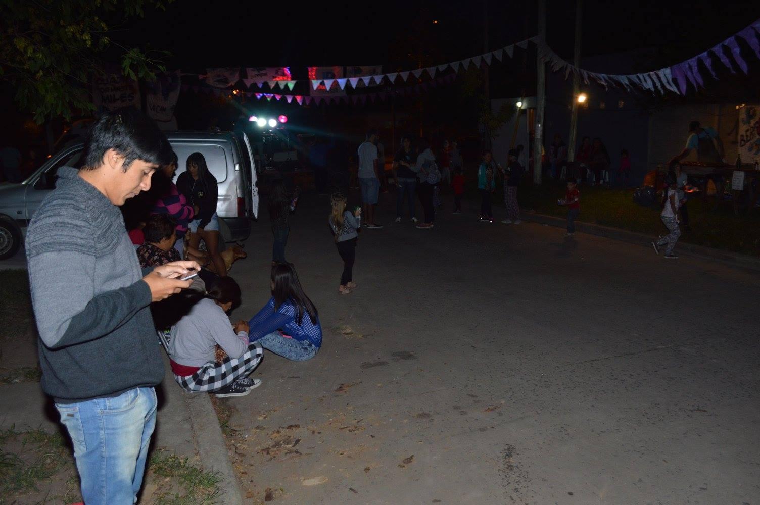 """Este sábado, pasadas las 20, se realizó el Carnaval Peronista organizado por la """"JP La Cámpora de Berisso""""  en la calle 12  de 149 norte a 150 de nuestra ciudad."""