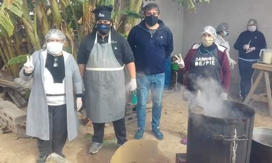 """Militancia en los barrios: """"El desafío es seguir brindando asistencia en el marco de la pandemia"""""""