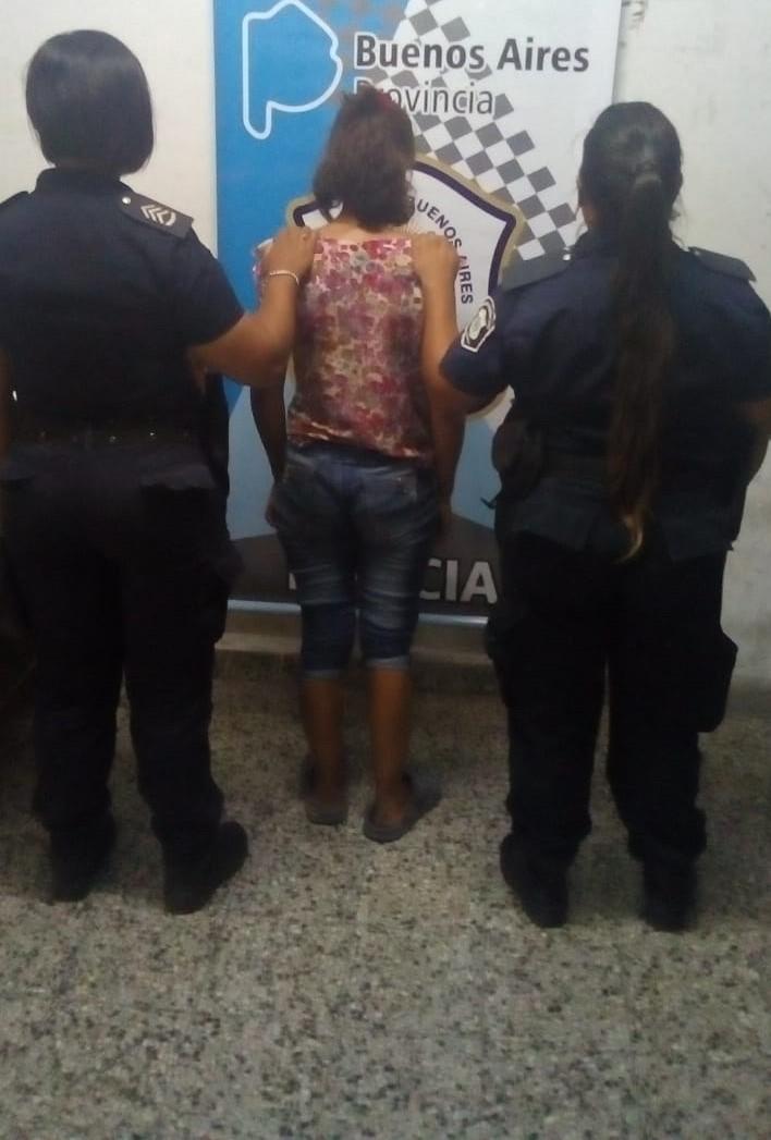 Una mujer detenida por provocarle lesiones a su ex novio