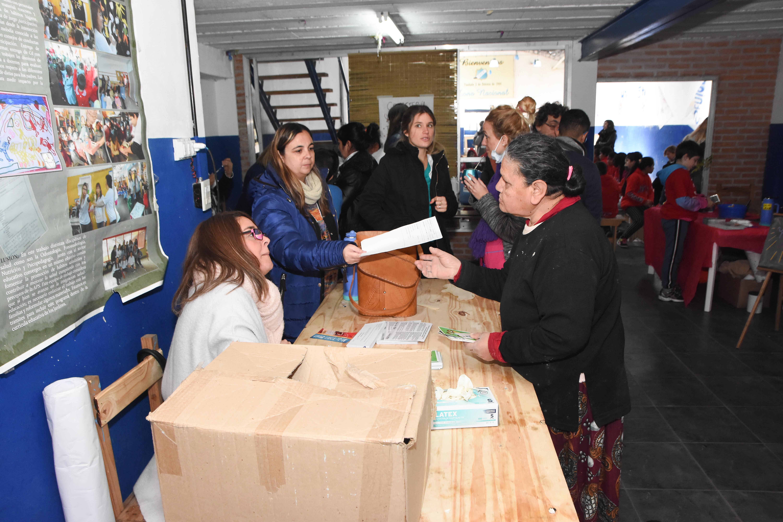 En la mañana de este viernes, el intendente Jorge Nedela recorrió una nueva jornada del Programa