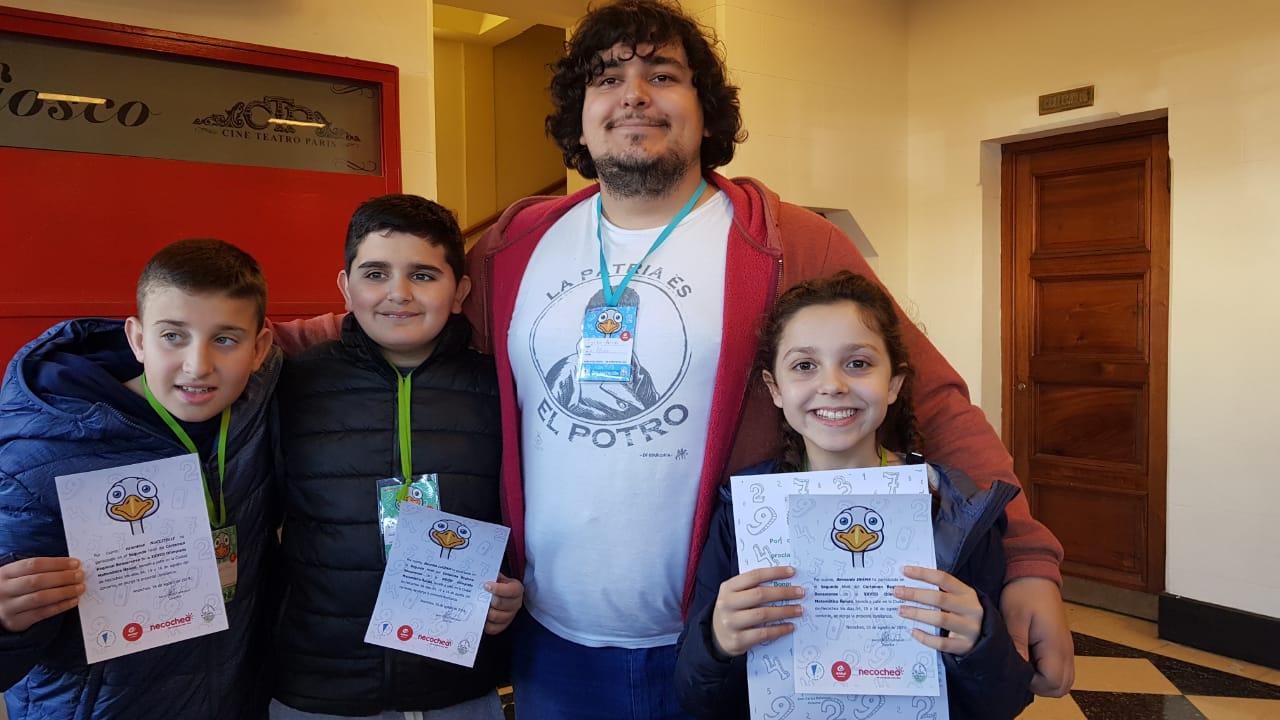 Bernarda Inama, alumna de la Escuela Primaria René Favaloro y hermana de Joaquín, joven seleccionado para las Olimpiadas Iberoamericanas 2019, se consagró subcampeona provincial en el nivel 2 de las Olimpiadas de Matemática Ñandú.