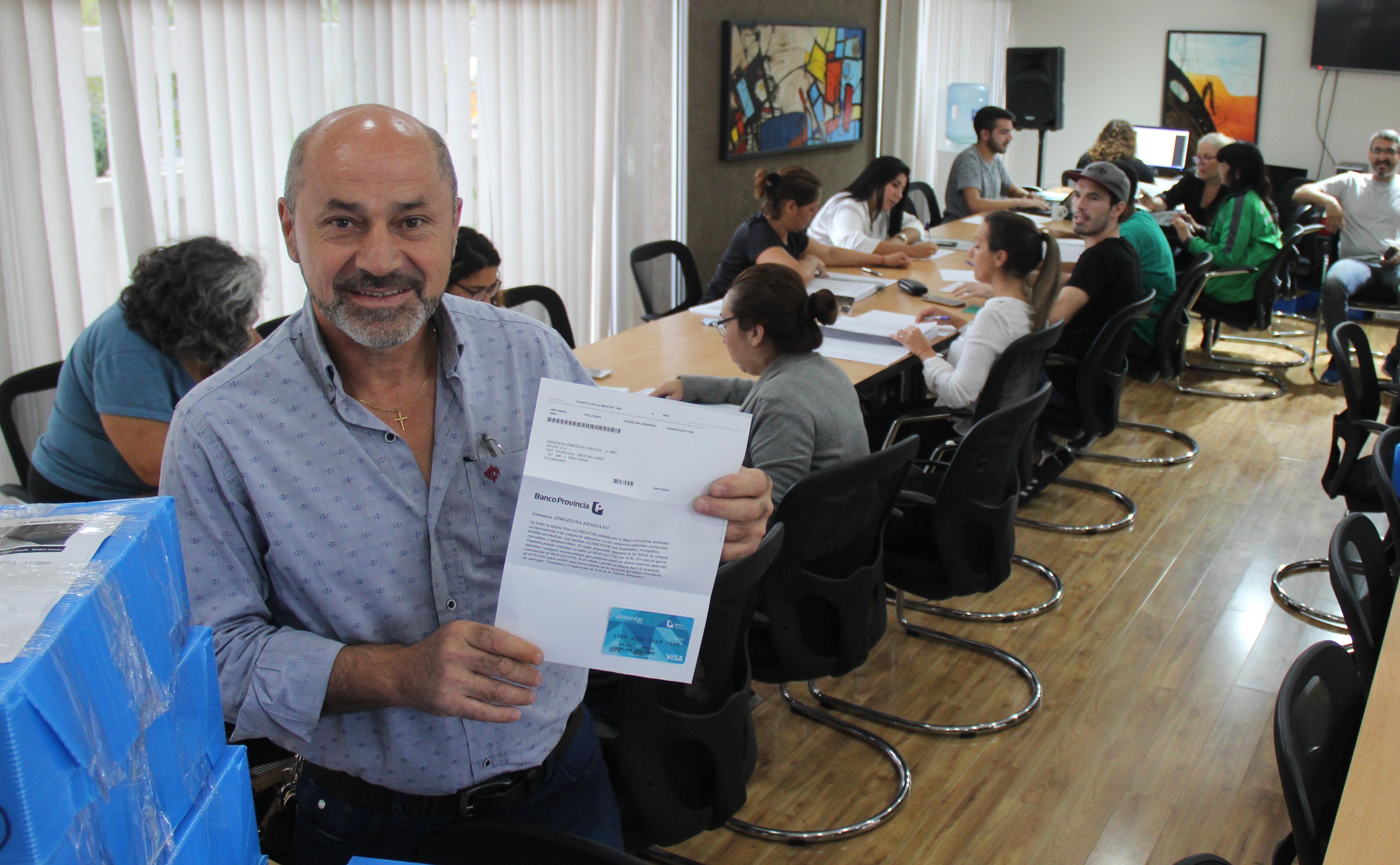 Estado de situación sobre coronavirus y tarjetas AlimentAR en Ensenada