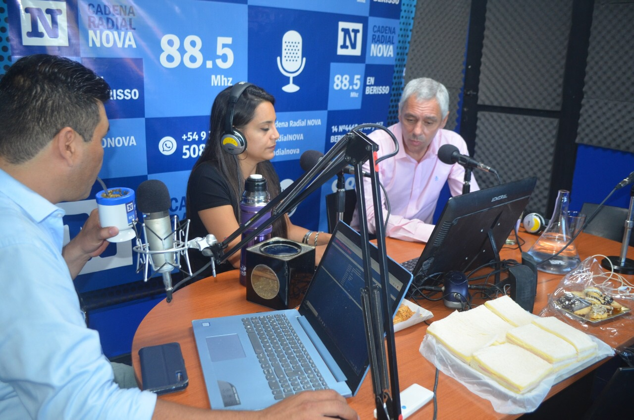 Agenda sanitaria en Berisso: Cagliardi habló de coronavirus, insumos, controles y fumigación
