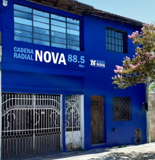 Reinauguración de Cadena Radial NOVA y BerissoCiudad