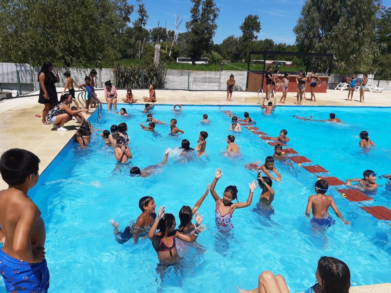 """Los niños de la Copa de Leche Libertad disfrutaron del camping de ATE: """"Queremos agradecer a todos"""""""