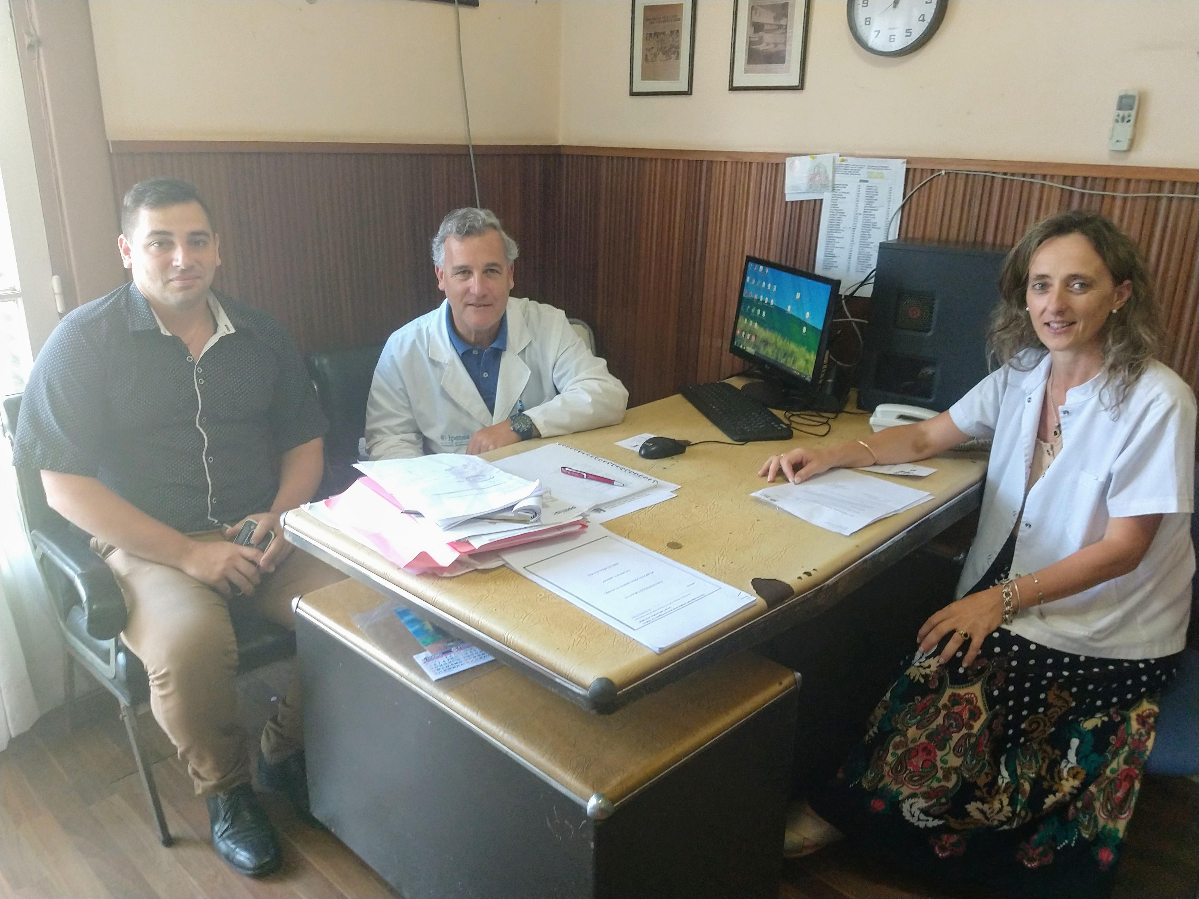 La nueva dirección del Hospita Larraín: Un trabajo que apunta a proyectos definitivos