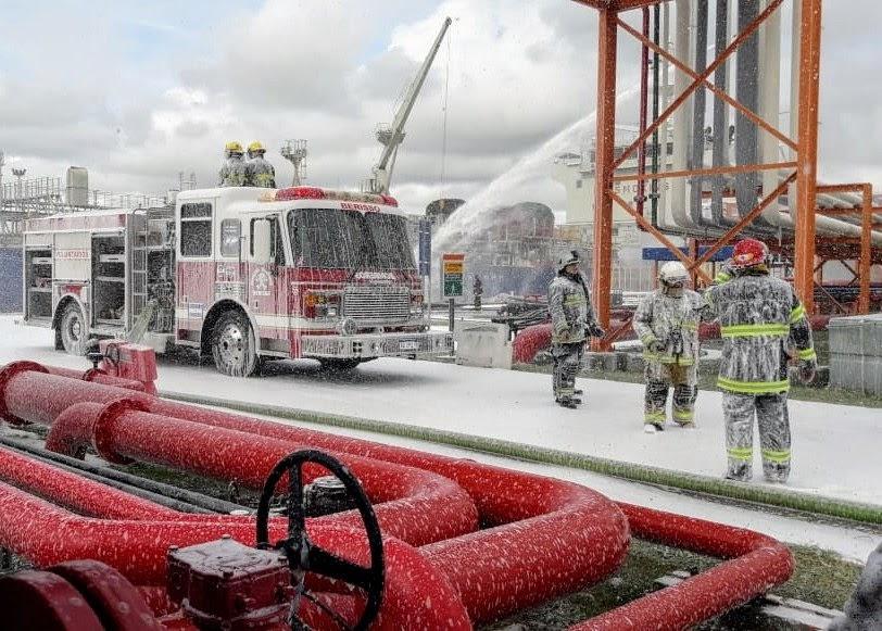 Simulacro en YPF: Anticipan ruidos de sirena y despliegue vehicular