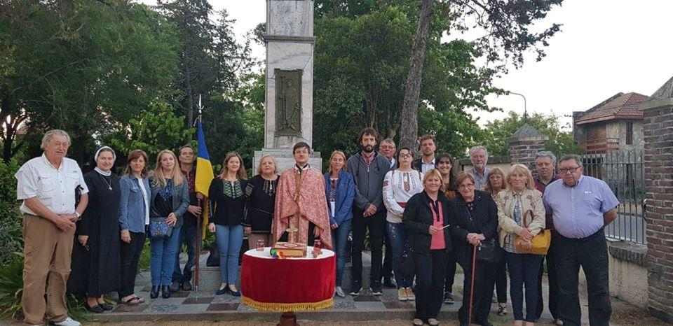 Divina Liturgia en honor a las víctimas del Genocidio Ucraniano