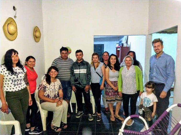 Reunión de trabajo con la Comisión Directiva de la Colectividad Paraguaya