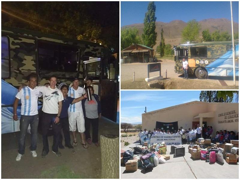 Realizarán una cruzada solidaria en un motorhome llevando alimentos, ropa y juguetes a Chaco