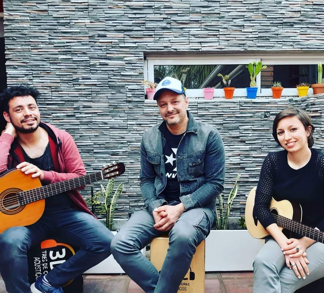 """Matías Alba y 3DC  en los acústicos de """"Casa de la Cultura"""""""