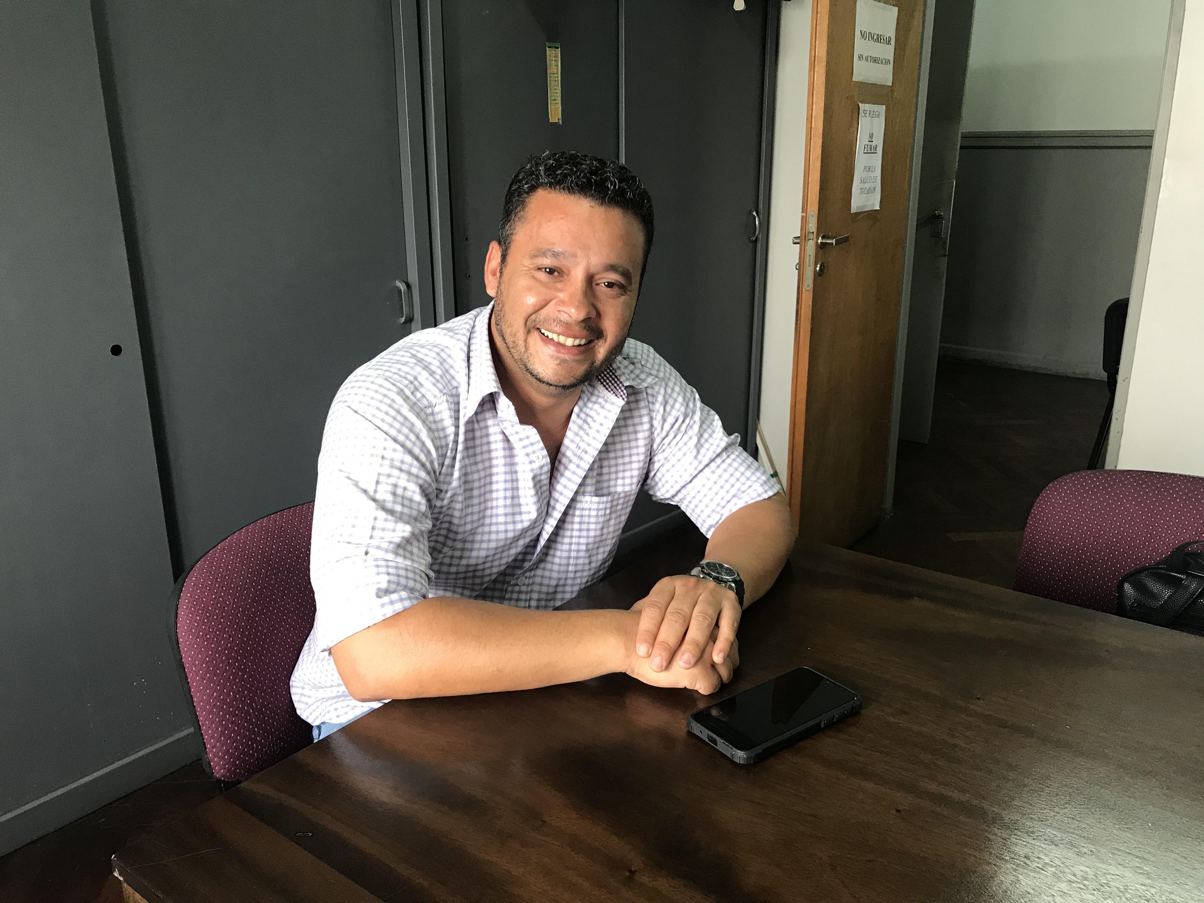"""Sergio Rolón: """"Los vecinos quieren cambiar la realidad que nos han dejado"""""""