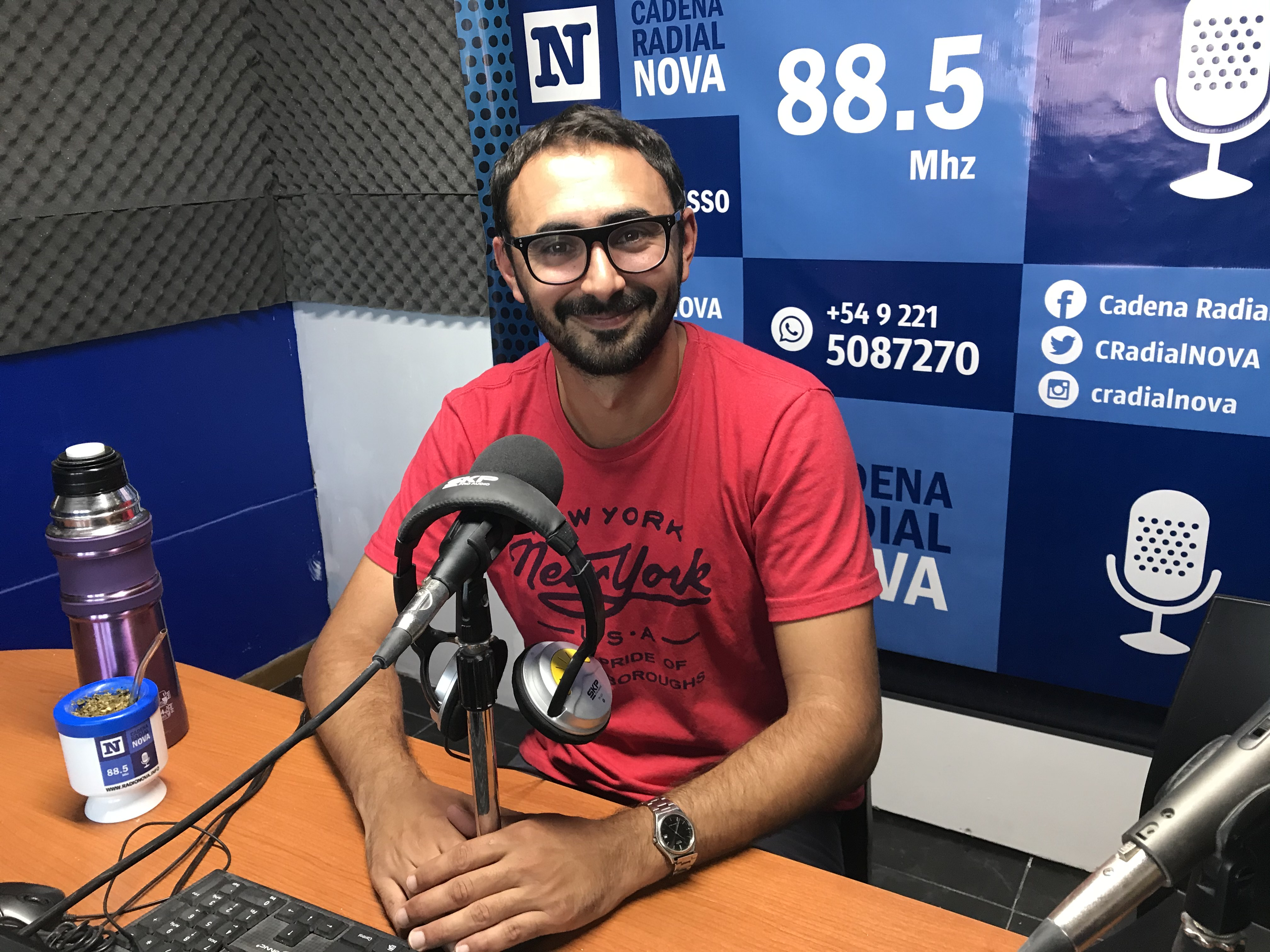 Santiago D'Elía presentó la quinta edición del Carnaval Peronista