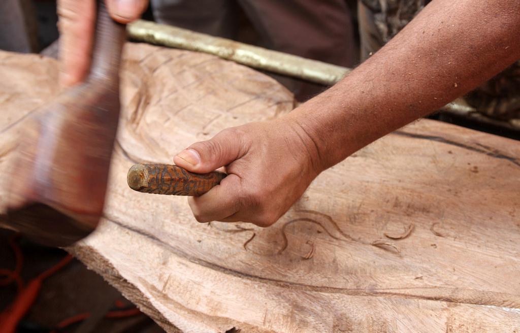 La Dirección de Cultura de la Municipalidad de Berisso realizará a través del taller de talla en madera que dicta el profesor Walter Dobrowlañski una jornada intensiva de trabajo y aprendizaje de máquinas del 1 al 5 de marzo en la sede del Vivero Municipal, ubicado en calle 18 y esquina156.
