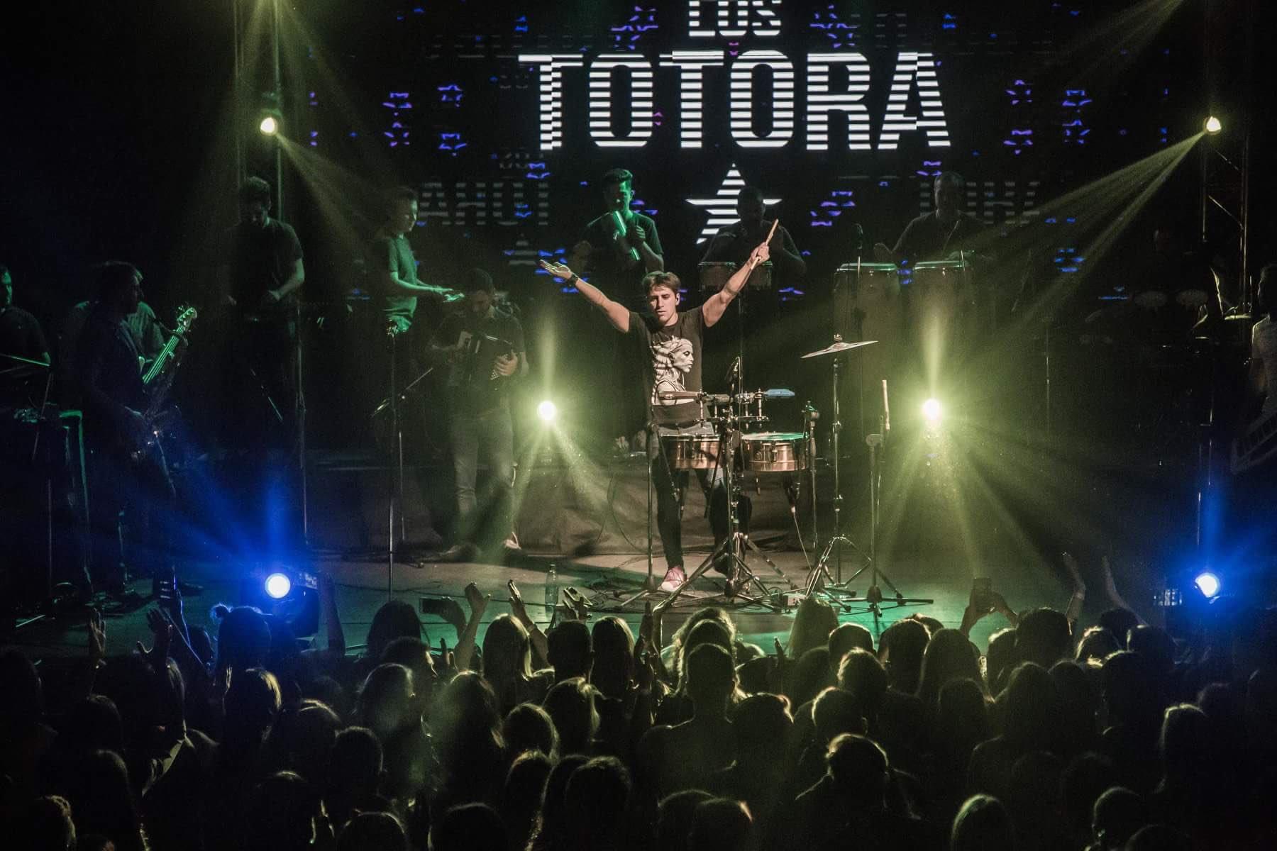Los Totora se presentan en el Parque Cívico