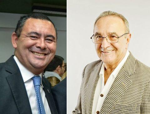 Cambios en el Ejecutivo local. Enroque entre Carlos Carrizo y Alberto Amiel.