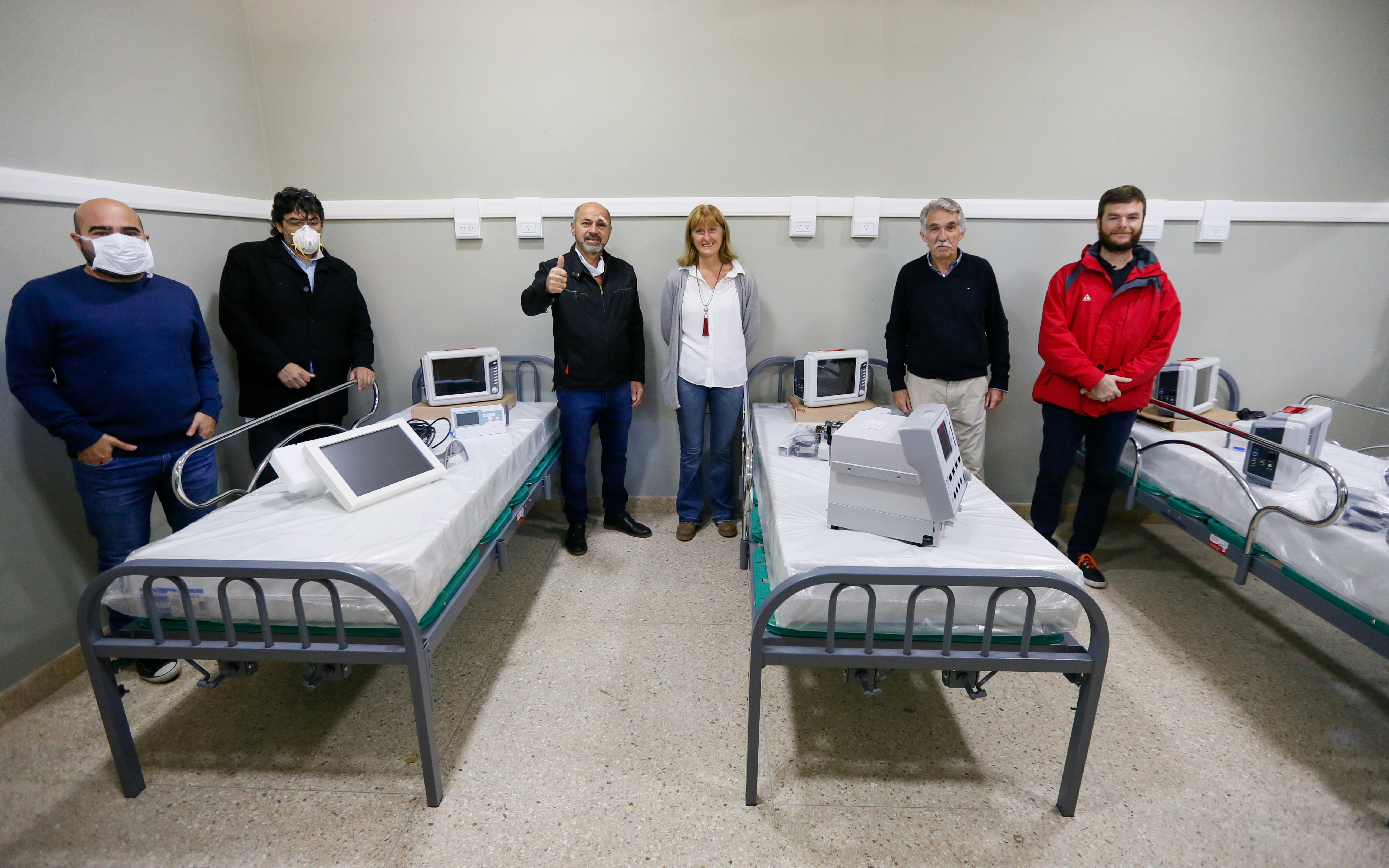 Donaciones de Pampa Energía para los hospitales de Ensenada