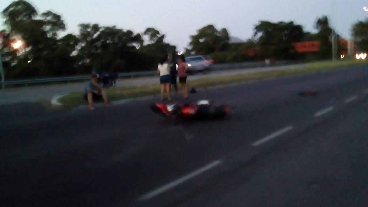 Accidente en la 60