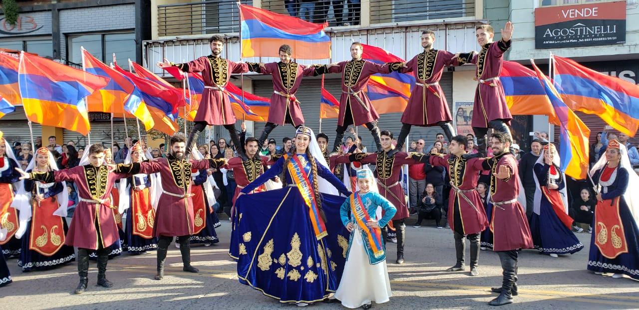 "El grupo de danzas folklóricas ""Arakadz"" formará parte del evento ""La Plata celebra Armenia"""