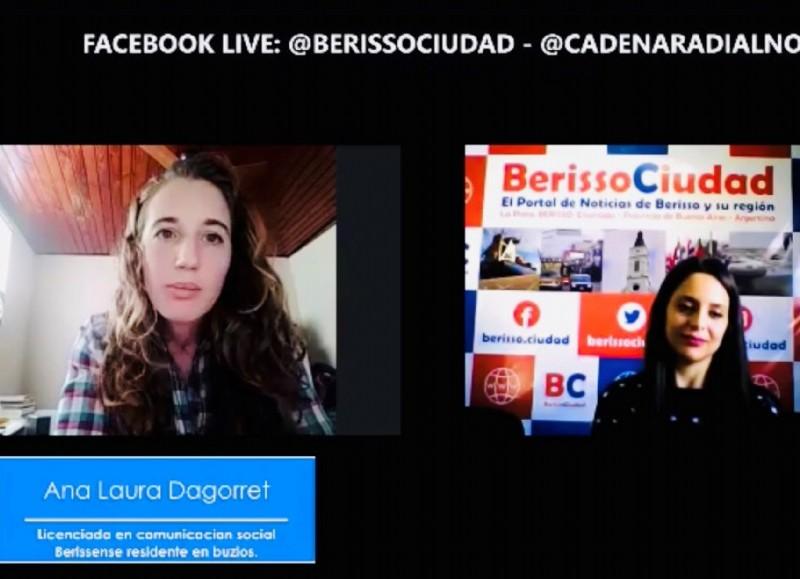Ana Dagorret en diálogo con BerissoCiudad.