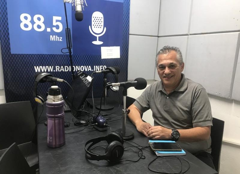 Rubén Vicente, exsecretario de Obras y Servicios Públicos.