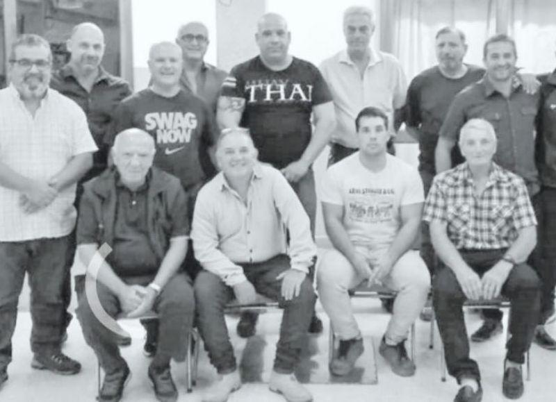 Roberto Scafati y su equipo de colaboradores.