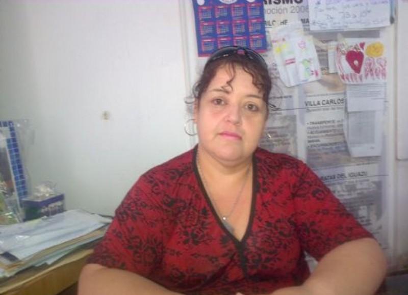 Norma Gómez, referente del SSP Berisso.