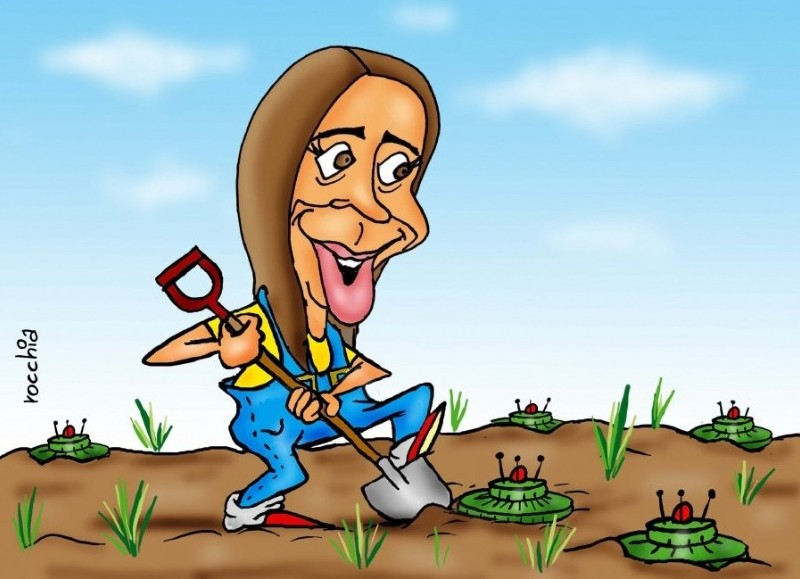 El gobierno saliente prepara le terreno para la llegada del próximo mandatario bonaerense. (Dibujo: NOVA)