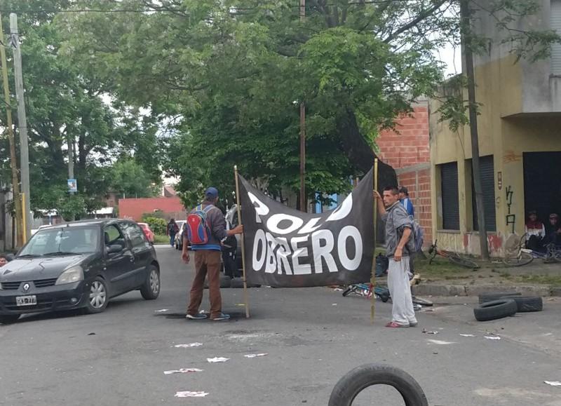 Manifestación en el Municipio.