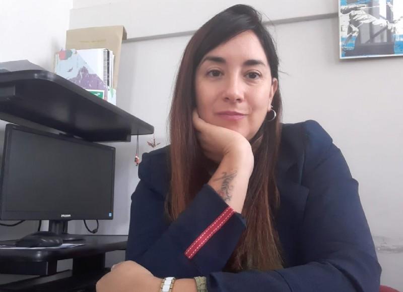 Marina Peñalba, titular del área de Mujer, Género y Diversidad.