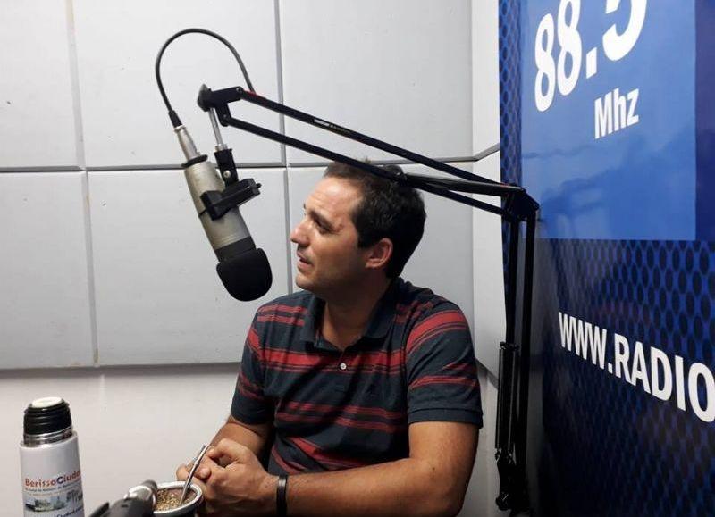La postura del precandidato Juan Ignacio Mincarelli.