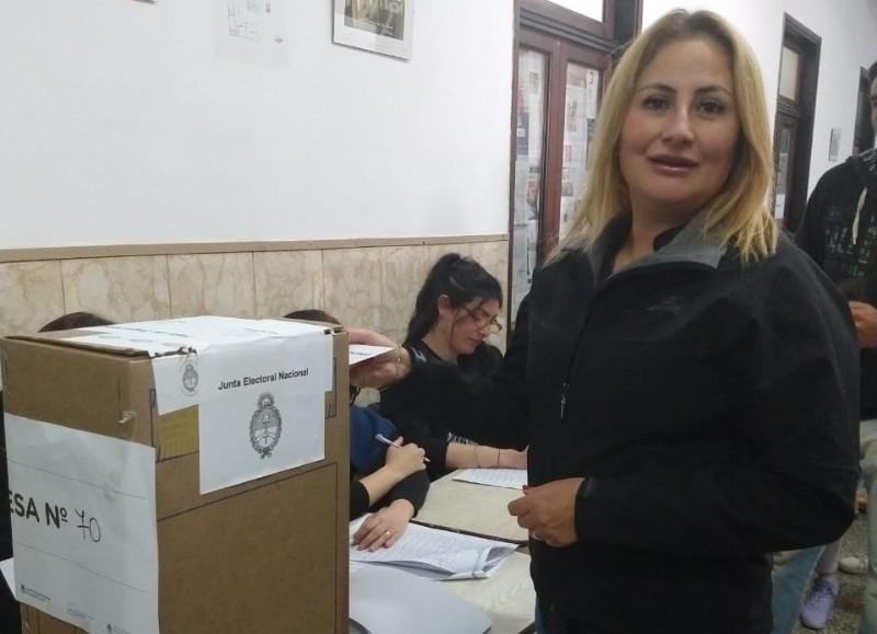 Lorena Russillo, precandidata a intendente por Consenso Federal.