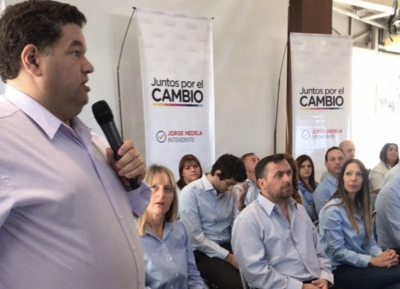 Acto de presentación de los precandidatos.